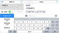 [ios]3-文本录入上 颜文字 切换输入法 emoji 符号输入.mp4