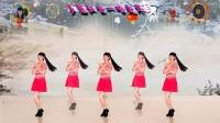 阳光美梅原创广场舞《一吻红尘》单人水兵舞附背面演示-编舞:美梅