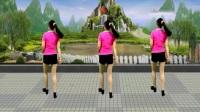安化艾艾广场舞《女人没有错》鬼步舞背面演示及分解.mp4