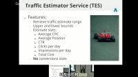 Optimizing Keywords and Traffic Estimations