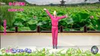 琼儿广场舞《油菜花儿开DJ》 瘦腰健身操 编舞:杨丽萍