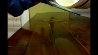 How to - Epoxy resin bar top crystal clear glaze coat.mp4