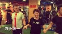 西安健身教练培训567GO国际健身学院213期团队游戏