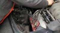 奥迪A6清洗节气门匹配全过程!