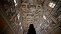 【陈小羊旅拍】参观梵蒂冈博物馆——西斯廷教堂