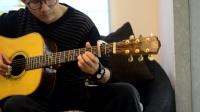 指弹吉他独奏 早安· 杭州 教学3