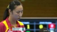 姜华珺VS沈燕飞 2013女子世界杯赛 女单1/4决赛视频
