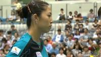 刘诗雯VS于梦雨 2013女子世界杯赛 女单1/4决赛视频