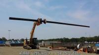 挖机辅具—电线杆桩螺旋钻和电线杆抓臂.mp4