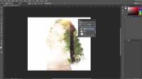 Photoshop平面设计 教程PS教程双重曝光效果