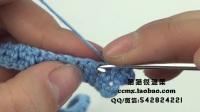 猫猫编织教程  背带蛋糕裙(2) 钩针毛线编织教程  猫猫很温柔