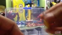 (雷古曼制作)枫木手指滑板(蓝轮子)(下)