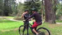 山地车后轮骑练习