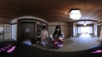 💕喜汇云VR💕 闺蜜的睡衣-《日本女主播的闺蜜温泉假期》EP.3