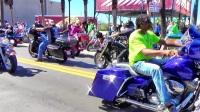 Daytona Beach Bike Week 2017, Main St. Saint Patricks Day, Party Central