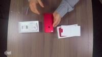 红色iPhone 7 Plus开箱体验  与可口可乐易拉罐红  参照物比对
