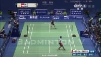 【2017中国羽毛球大师赛男单第二轮】林丹vs秦正(2:0)