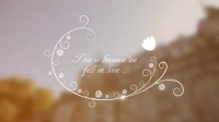 AE模板创意唯美婚礼电子相册幻灯片标题展示元素动画模板