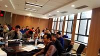 钟鸣老师为哈电集团培训APQP时小组课堂练习