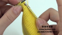 猫猫编织教程 卡通小马甲(1) 棒针毛线编织教程  猫猫很温柔