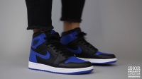 Air Jordan 1 High Retro OG Royal 黑蓝 上脚赏析