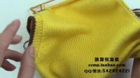 猫猫编织教程 卡通小马甲(2)棒针毛线编织教程  猫猫很温柔