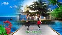 飞魅广场舞双人对跳32步《幸福爱河》原创附分解