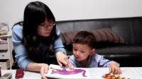 20170417_190635 崽崽跟妈妈学英语