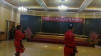 A06.石榴花团队联谊会,徐哲民老师等三人表演舞蹈。草根制作。