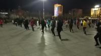 广场舞自由步32步,花桥流水,分解和音乐在QQ群220615564