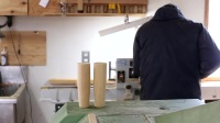 ISHITANI - Making a Ginkgo tree Cupboard - made from an old table top .mp4