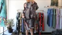 阿邦服装-品牌时尚仿真丝大版衫30件起批--411期