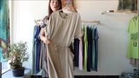 阿邦服装-品牌棉麻连衣裙30件起批--412期