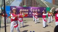 2017年4月27日参加电信电视杯广场舞大赛目--云南白族民间舞蹈-霸王鞭