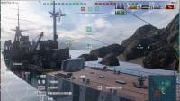 (小拍郭)战舰世界EP1 打得不错1700经验,顶顶顶!