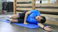 办公室数据健身系列(三)侧弯腰 增强腰侧肌肉、塑造手臂线条