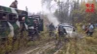 俄罗斯军用卡车有多牛,看完这个视频就知道了