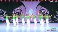 张春丽广场舞  人间西湖   团队正背面演示