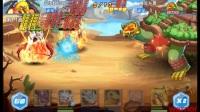 数码宝贝大冒险游戏视频7 与大boss要塞兽大战2回合