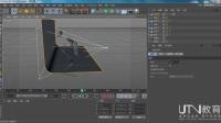 UTV-C4D如何创建曲线路径动画教程