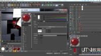UTV-C4D如何创建新闻定版玻璃质感教程002