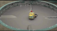 变形警车珀利:救援队紧急出动赶赴现场,救起掉入搅拌槽的布鲁斯