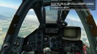 DCSworld 数字战斗模拟世界 苏25T 蛙足 视频攻略 第5集 CCIP模式非制导炸弹投放
