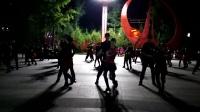 航天城中湖公园西安张玉龙水兵舞团互动新老二套