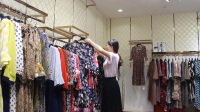 杭州品牌女装【舒丽装点】视频,连衣裙