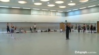 莫斯科大剧院芭蕾舞团演员每日大课