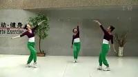 藏族锅庄舞--广场民族健身舞演示