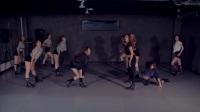 PRISTIN - Black Widow舞蹈教学 练习室镜面