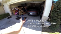 保时捷991排气声浪对比 Cargraphics vs AWE Switchpath
