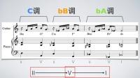 【爵士和声理论】16.全音下行移调